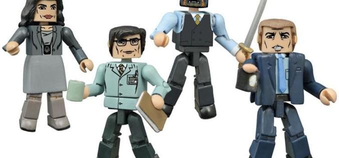 Diamond Select Toys Gotham Minimates Box Set