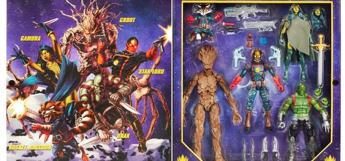 Guardians Of The Galaxy Comic Edition Marvel Legends Entertainment Earth Exclusive Now $60