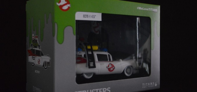 Ghostbusters Titans Collection Nerd Block Exclusive Vinyl Ecto-1 Comparison Update