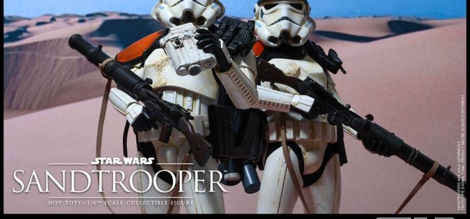 Hot Toys Star Wars Sandtrooper Sixth Scale Figure