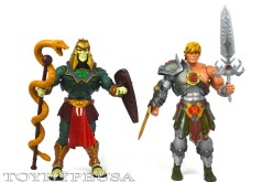 Masters Of The Universe Classics Snake Armor He-Man & Battle Armor King Hsss Review