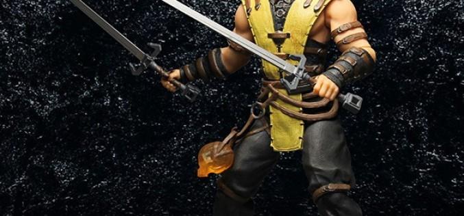 Mezco Mortal Kombat X Scorpion 12″ Figure