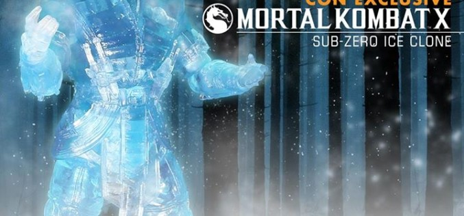 Mezco Reveals SDCC Exclusive Mortal Kombat X Ice Clone Sub Zero (Update)