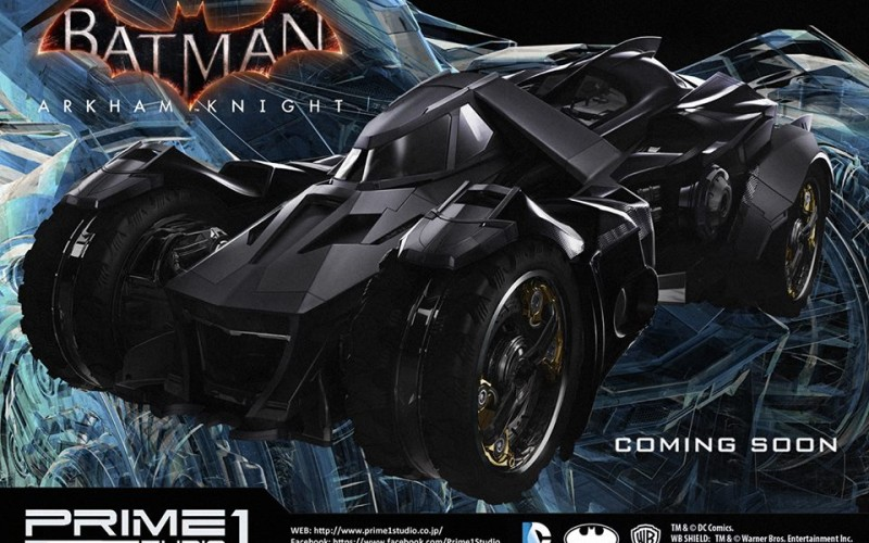 PRIME1 STUDIO : NEWS  Prime-1-Studio-Announces-Batman-Arkham-Knight-Batmobile-800x500_c