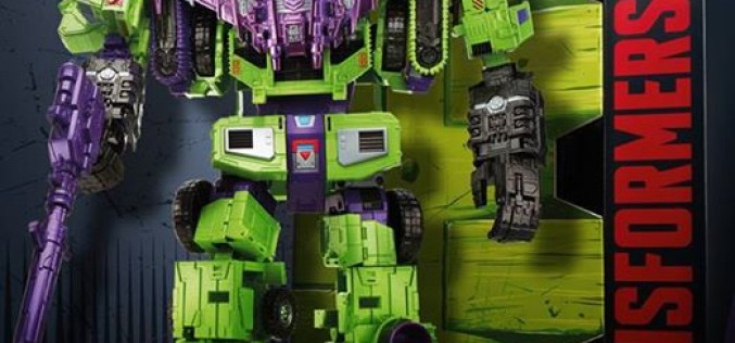 SDCC 2015 Hasbro Transformers Combiner Wars Devastator Exclusive Revealed