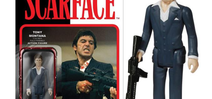 Funko Reveals Scarface Tony Montana ReAction 3 3/4″ Retro Action Figure & More