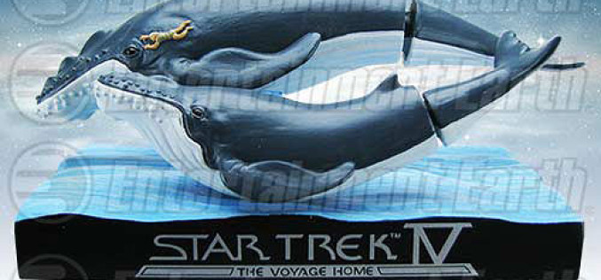 Star Trek IV: Whales With Spock Bobble Head San Diego Comic-Con 2015 Exclusive