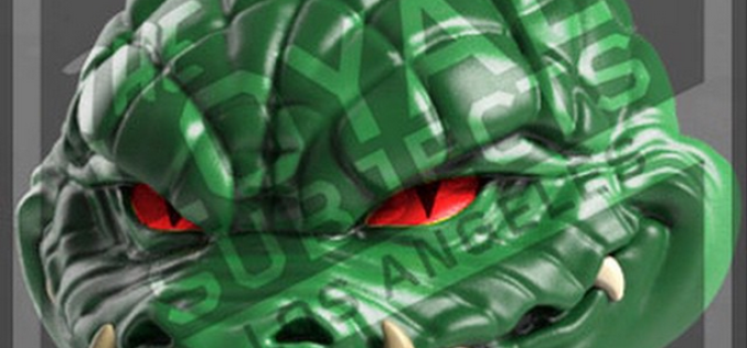The Loyal Subjects Action Vinyls TMNT Series 2 Leatherhead Figure Second Preview