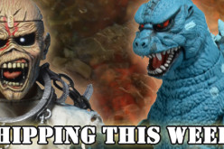 NECA Shipping This Week – Video Game Appearance Godzilla, Iron Maiden Piece of Mind Clothed Figure