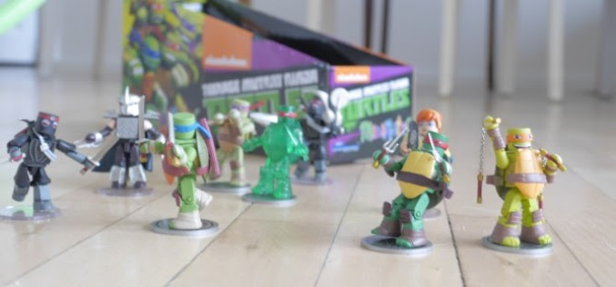 Exclusive Giveaway Contest Winner Sends In Images Of Teenage Mutant Ninja Turtles Minimates