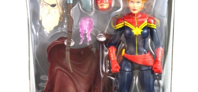Hasbro Marvel Legends Avengers Infinite Series Captain Marvel Review