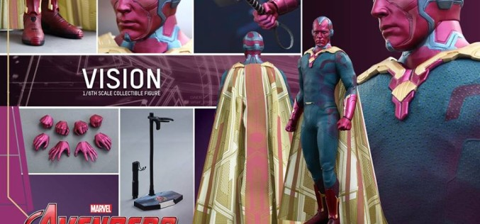 Hot Toys Reveals Avengers Age Of Ultron Vision Sixth Scale Figure
