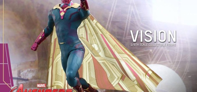 Hot Toys Avengers Age Of Ultron Vision Sixth Scale Figure Pre-Orders