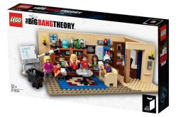 LEGO Announces The Big Bang Theory Mini-Figures & Playset