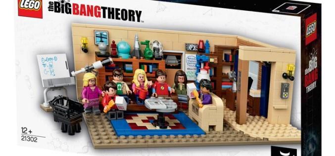 LEGO Announces The Big Bang Theory Mini-Figures & Playset