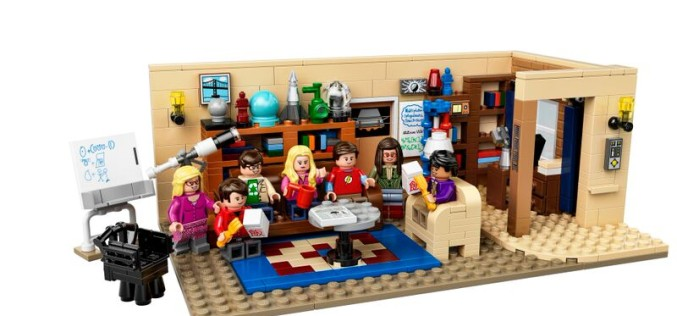 LEGO The Big Bang Theory Set Released August 1st