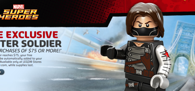 LEGO Shop Offering Free Winter Soldier Mini-Figure Exclusive With Purchase