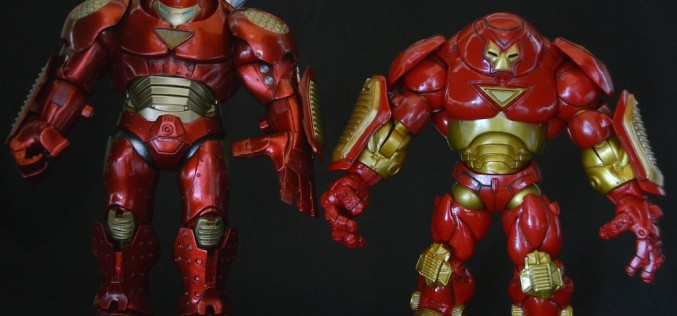 Marvel Select Marvel Shop Exclusive Iron Man Hulkbuster Review
