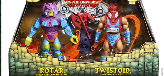 Mattel SDCC 2015 Voucher Sale Today & New Images Of Rotar And Twistoid
