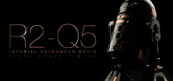 Sideshow Collectibles Announces R2-Q5 Imperial Astromech Droid Sixth Scale Figure