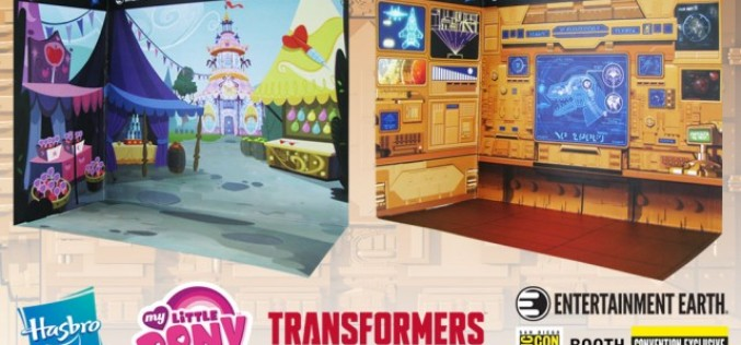 SDCC 2015 Entertainment Earth Action Stage Diorama's Exclusive Offer