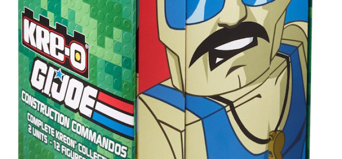 SDCC 2015 Exclusive Hasbro G.I. Joe Kre-O Sgt. Slaughter's Marauders Box Set