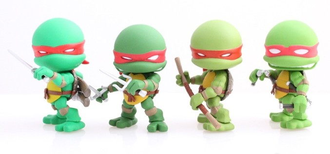 SDCC 2015 Exclusive Loyal Subjects TMNT Original Comic 4 Pack