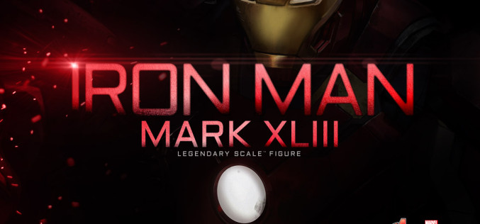 Sideshow Iron Man Mark 43 Legendary Scale Figure Preview
