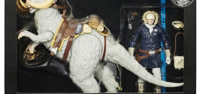 Hasbro Star Wars The Black Series Deluxe Han Solo And Tauntaun On Sale At Amazon