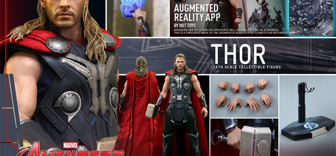 Hot Toys Avengers: Age Of Ultron Thor Sixth Scale Figure