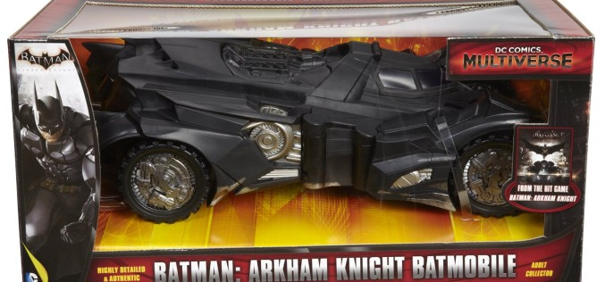 Amazon Exclusive DC Multiverse Batman: Arkham Knight Batmobile Reissue