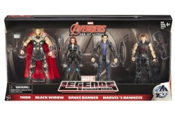 Amazon Exclusive Hasbro Marvel Legends Avengers: Age Of Ultron 4 Pack Pre-Orders Up