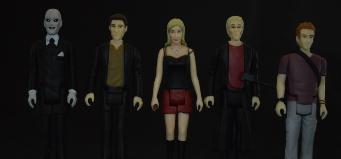 Funko Buffy The Vampire Slayer ReAction Figures Review
