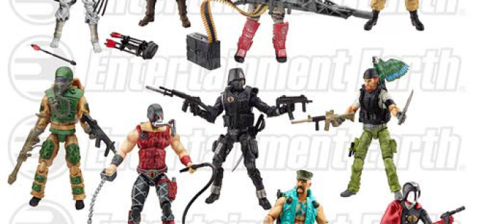 Entertainment Earth News: G.I. Joe 50th Anniversary Action Figures 2-Packs Wave 3 In Stock