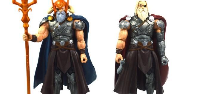 Hasbro Marvel Legends Avengers Infinite Series Odin & King Thor Review