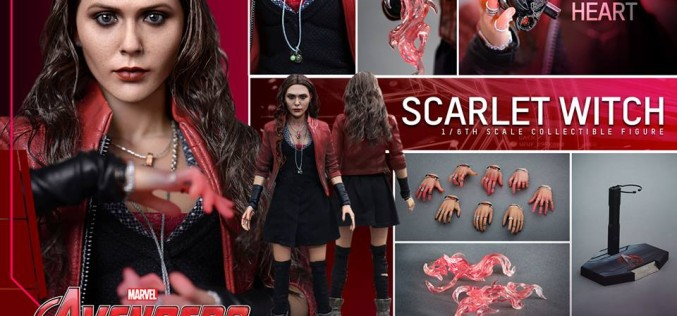 Hot Toys Avengers Age Of Ultron Scarlet Witch Sixth Scale Figure Pre-Order