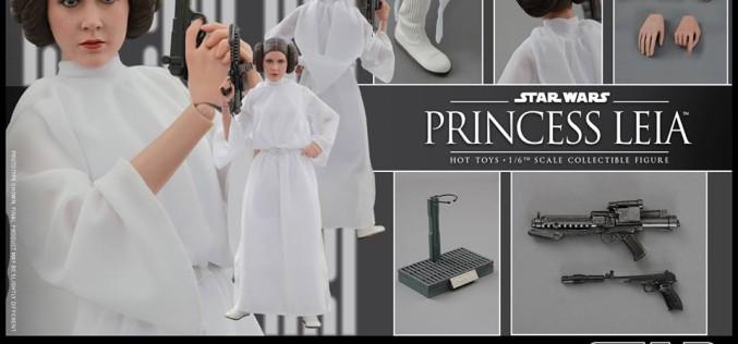 Hot Toys Star Wars Princess Leia Sixth Scale Figure