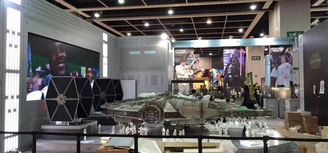 Hot Toys Star Wars The Millennium Falcon Sixth Scale Vehicle At ACGHK