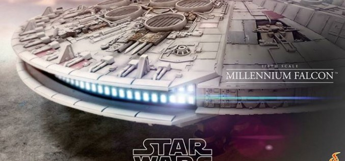 Hot Toys Star Wars The Millennium Falcon Sixth Scale Vehicle Preview