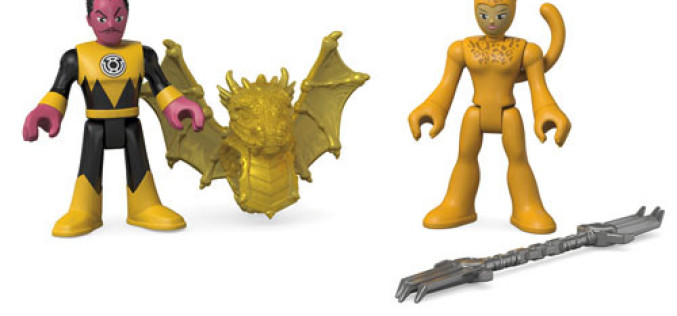 Fisher-Price Imaginext DC Super Friends Update On Firestorm, Sinestro & Cheetah