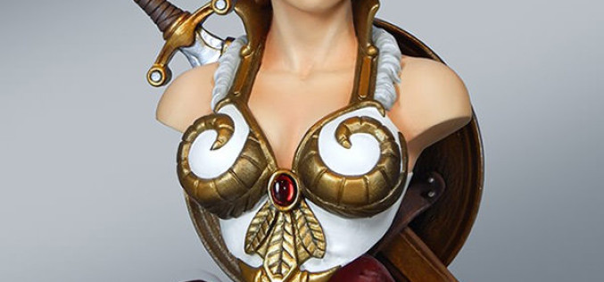 Masters Of The Universe Teela Quarter Scale Collectible Bust Pre-Orders