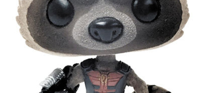 TFAW Update – SDCC 2015 Exclusive Funko Ravager Rocket Raccoon Previews Exclusive Flocked POP! Vinyl Bobble Head