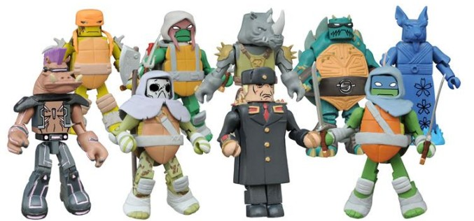 BigBadToyStore Update – Diamond Select Toys TMNT Minimates Wave 3, DC, The Walking Dead & More