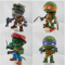 The Loyal Subjects TMNT Action Vinyl Wave 2