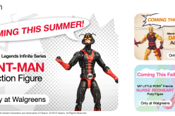 Walgreens Teases Marvel Legends Yellow Deardevil & My Little Pony Exclusives