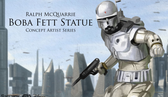Sideshow Collectibles Announces Ralph McQuarrie Boba Fett Statue & Darth Maul Sixth Scale Figure