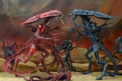 NECA Aliens Genocide Red Queen Mother Ultra Deluxe Figure Listed On eBay