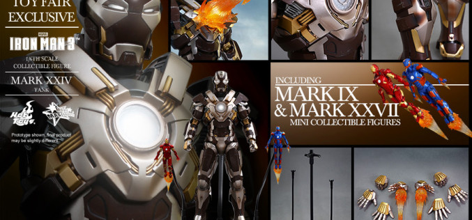 Hot Toys Traveling Convention Exclusive Iron Man Mark XXIV – Tank Sixth Scale Figure