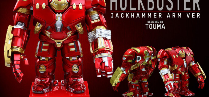 Hot Toys Hulkbuster Jackhammer Arm Version – Artist Mix Marvel Collectible Figure Pre-Orders