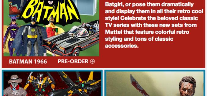 BigBadToyStore Update – Batman 66, GI Joe, Transformers, The Walking Dead, Harry Potter, Hatsune Miku, Star Wars & More
